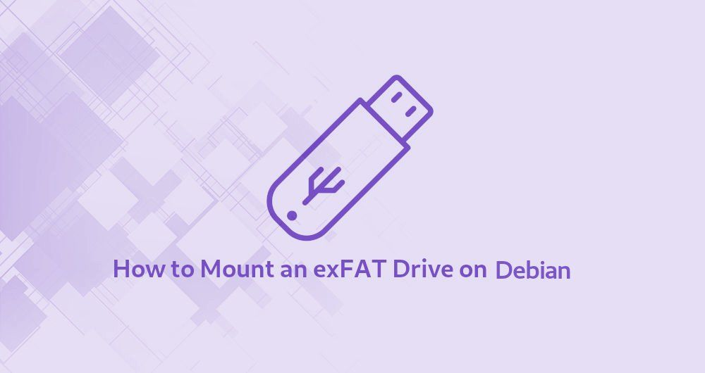 How to Mount an exFAT Drive on Debian Linux