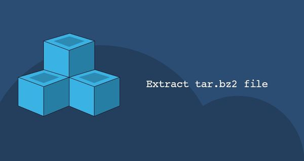 How to Extract Tar Bz2 File