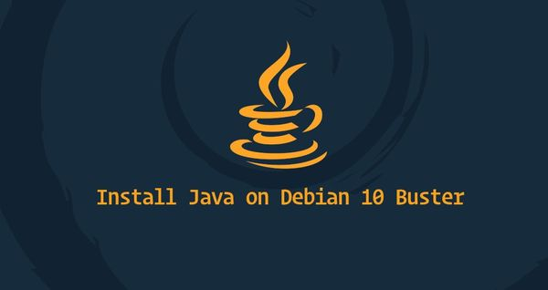 How to Install Java on Debian 10
